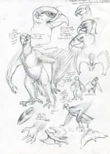 Page concept de l'aazreth - Scarlet Harlequin