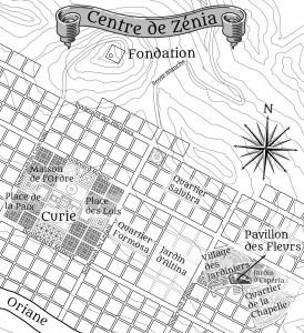 Zénia Nord - Le village des Jardiniers et le quartier de la chapelle sont les vestiges de la ville ancienne