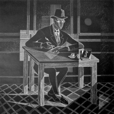 Pedro Ribeiro Simões : Orpheu group - Fernando Pessoa (1915) - Almada Negreiros