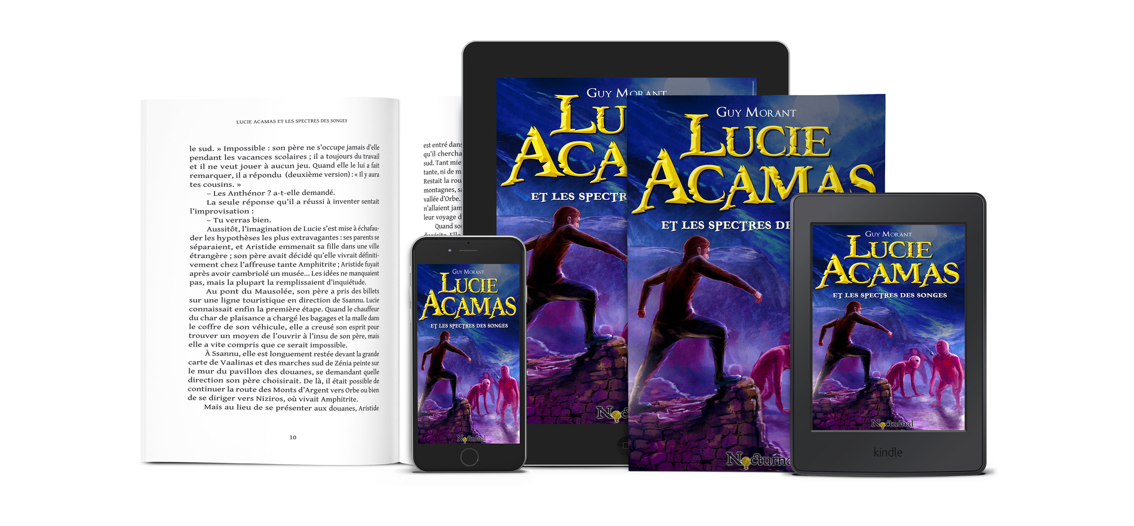 Lucie Acamas et les spectres des songes